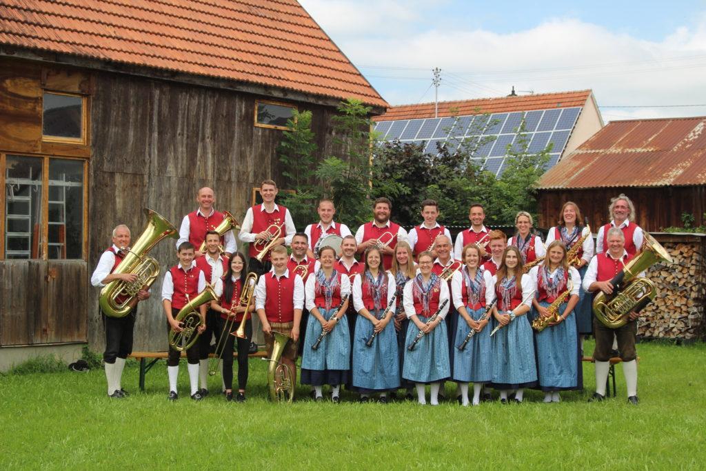 Gruppenbild Musikverein Steinheim